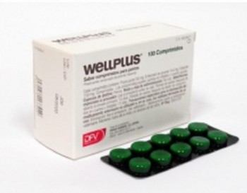 WELLPLUS MASTICABLE PERRO 100CPD