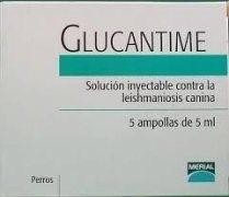 GLUCANTIME 5 AMP. 5 ML INY.