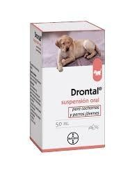 DRONTAL SUSPENSION ORAL CAHORROS 50 ML