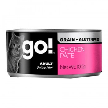 GOGATO grain free CHICKEN PATE RECIPE 6X100 G.