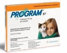PROGRAM GATOS S7 6 AMPOLLAS
