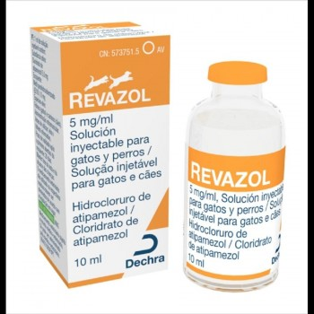 REVAZOL SOL INY 10 ml/5mg