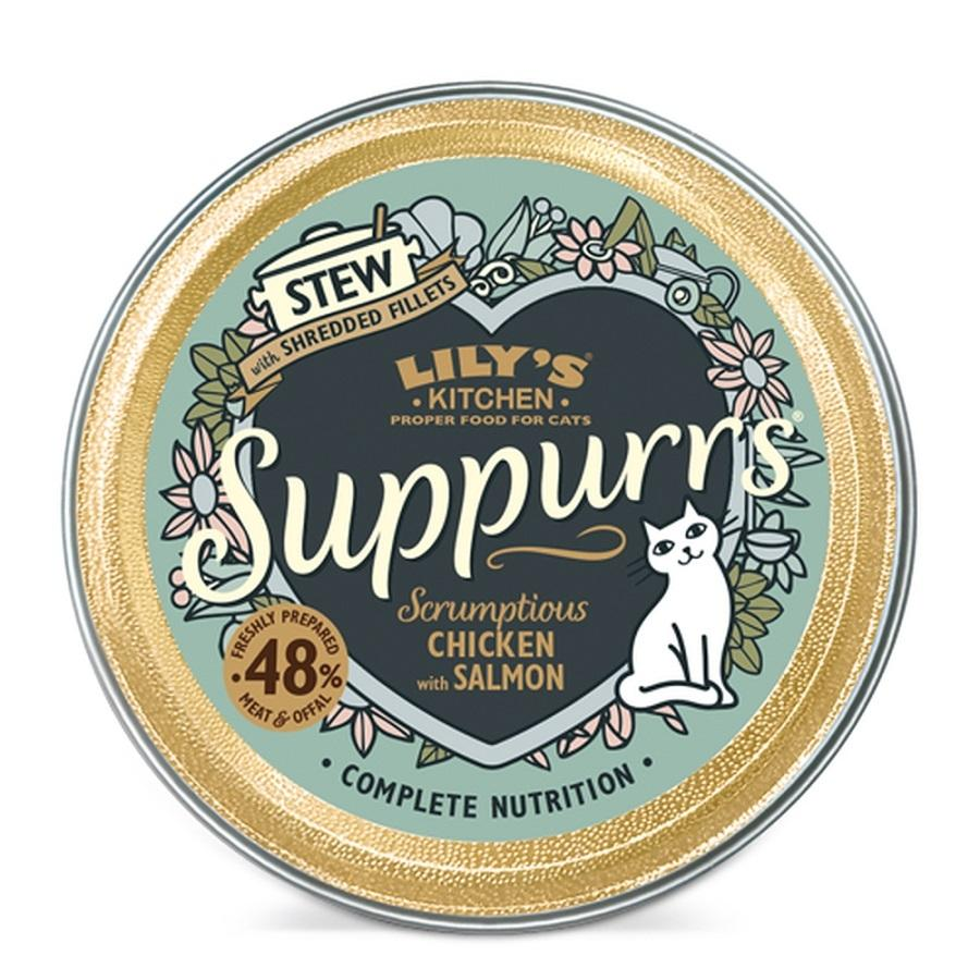 LKCAT SUPPURRS Scrumptious Chicken & Salmon 9X85 GR