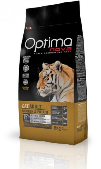ONOVAGFREE CAT ADULT CHICKEN 2 KG.