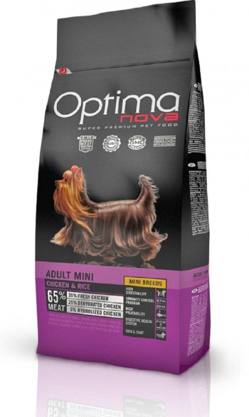OPTIMA NOVA CANINE ADULT MINI  con pollo y arroz