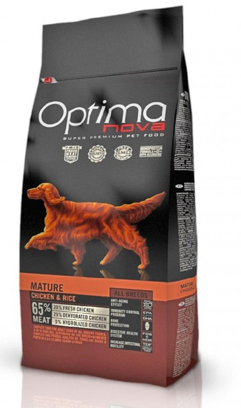 OPTIMA NOVA CANINE MATURE  con pollo y arroz